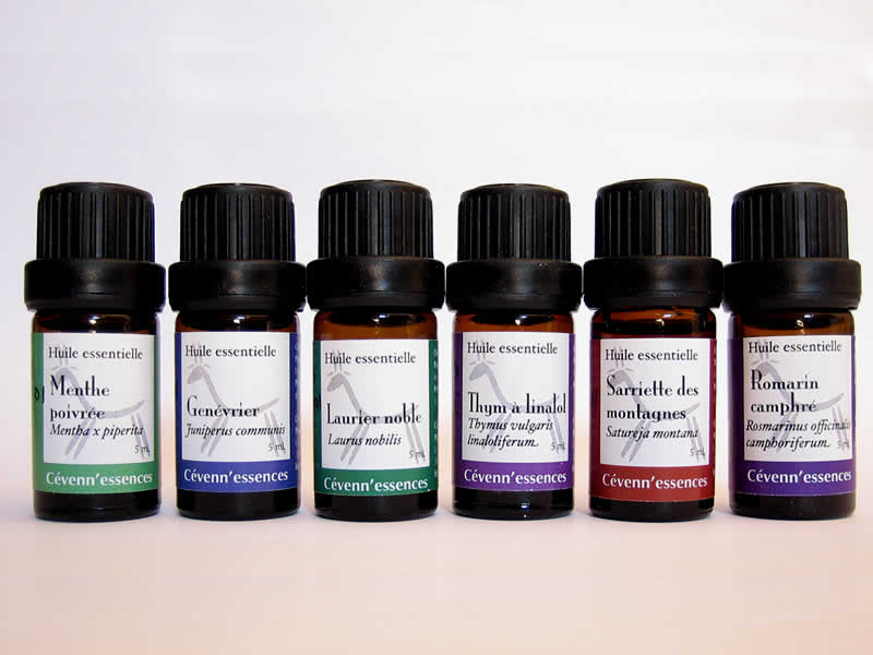 Huiles essentielles Cévenn'essences biologiques