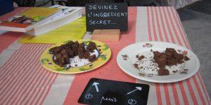 Gâteau choco/menthe et choco/thym