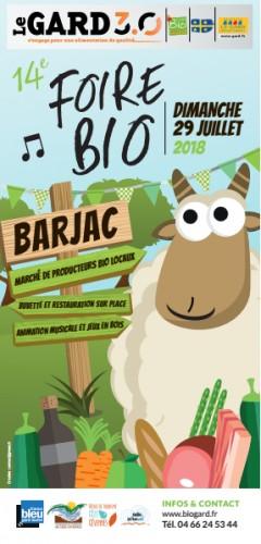 Participation à la foire bio de Barjac