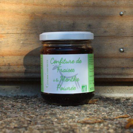 confiture fraise menthe